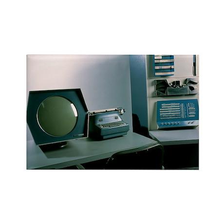 DEC PDP-1 computer - Rectangle Magnet