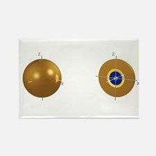 3s electron orbital - Rectangle Magnet (10 pk)