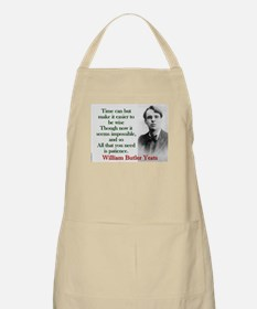 Time Can Make It Easier - Yeats Light Apron