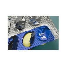 Antibiotic pills - Rectangle Magnet (10 pk)
