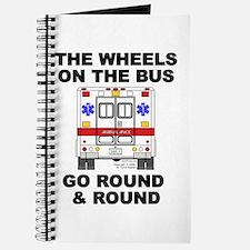 Ambulance Wheels Go Round Journal