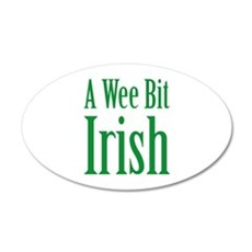 A Wee Bit Irish 22x14 Oval Wall Peel
