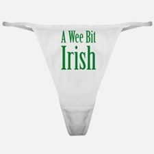 A Wee Bit Irish Classic Thong
