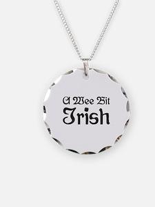 A Wee Bit Irish Necklace