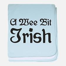A Wee Bit Irish baby blanket