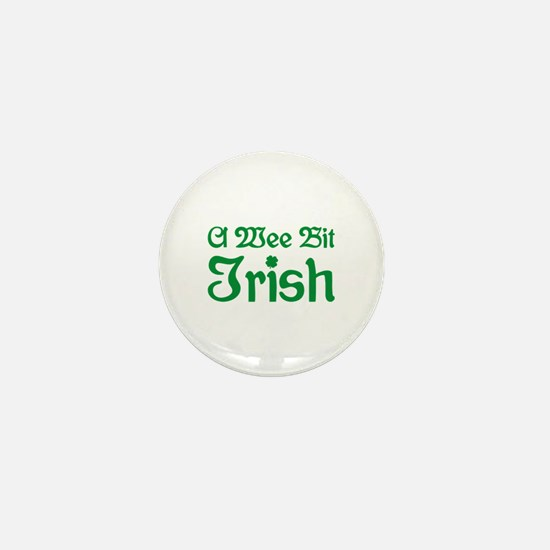 A Wee Bit Irish Mini Button