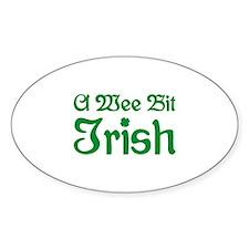 A Wee Bit Irish Decal