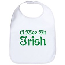 A Wee Bit Irish Bib