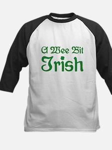 A Wee Bit Irish Kids Baseball Jersey