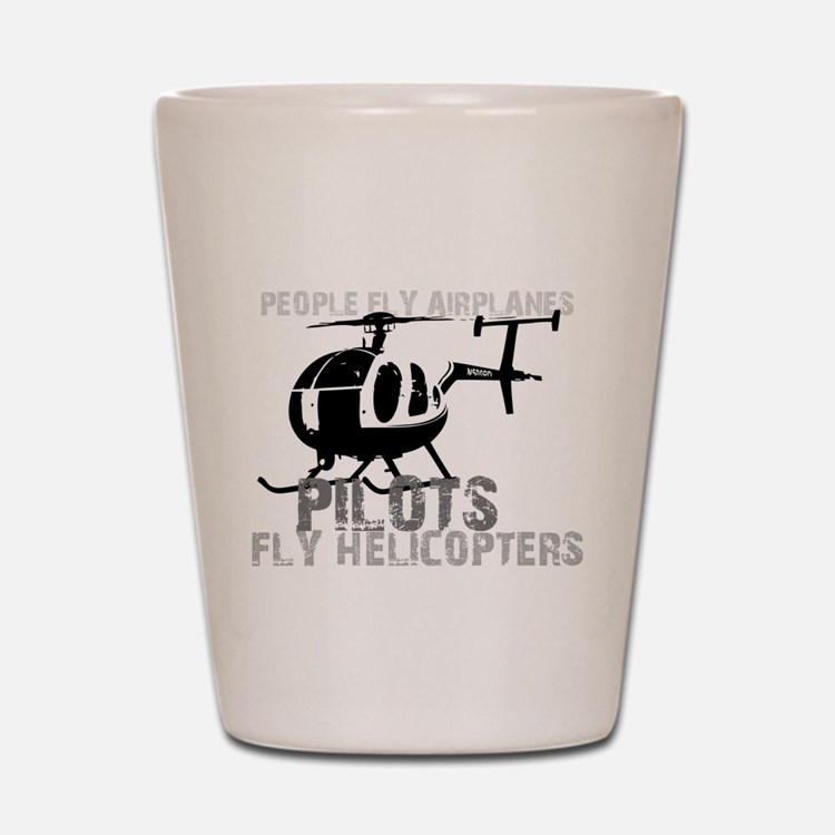 Cute Helicopter Shot Glass