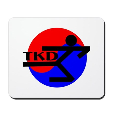 TKD Flying Side Kick Mousepad