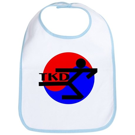TKD Flying Side Kick Bib