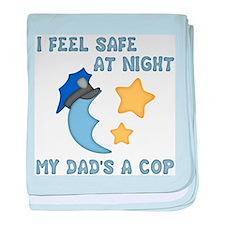 Cute Baby police baby blanket
