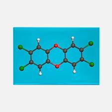 Dioxin - Rectangle Magnet (10 pk)