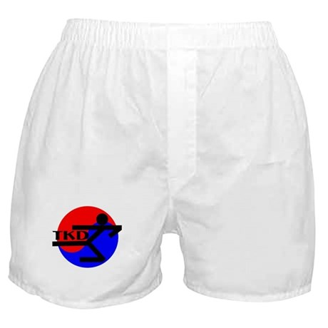 TKD Flying Side Kick Boxer Shorts