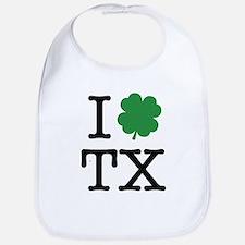 I Shamrock TX Bib