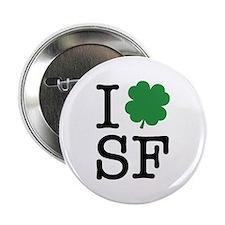 """I Shamrock SF 2.25"""" Button"""