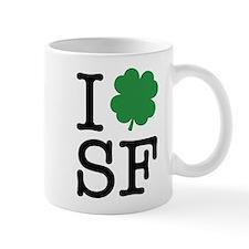I Shamrock SF Mug