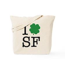 I Shamrock SF Tote Bag