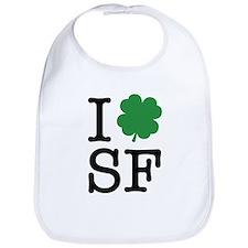 I Shamrock SF Bib