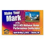 2013 ACI National Conference Sticker