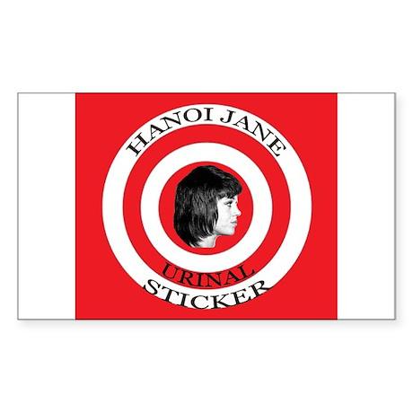 "3"" Hanoi Jane Urinal Sticker (48 pk) Sticker"