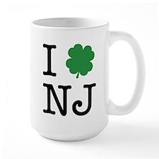 I Shamrock NJ Mug