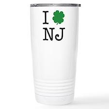 I Shamrock NJ Travel Mug