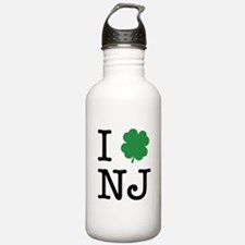 I Shamrock NJ Water Bottle