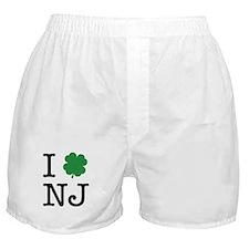 I Shamrock NJ Boxer Shorts