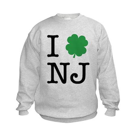 I Shamrock NJ Kids Sweatshirt