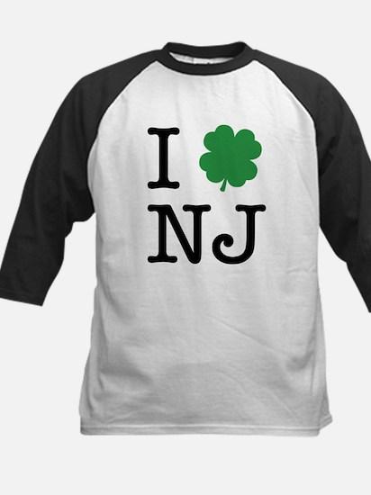 I Shamrock NJ Kids Baseball Jersey