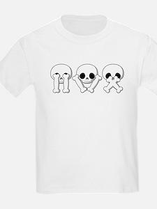 See Hear Speak No Evil Kids T-Shirt