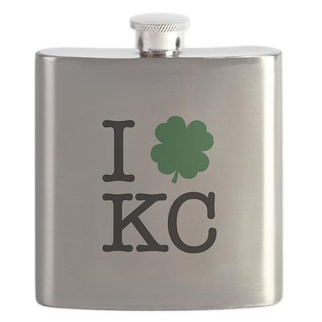 I Shamrock KC Flask