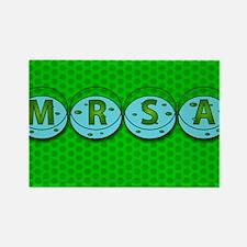 MRSA - Rectangle Magnet (10 pk)