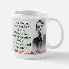 Time Can Make It Easier - Yeats Mug