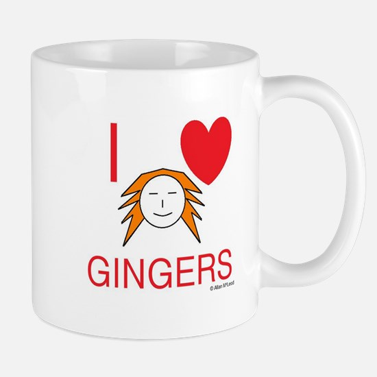 ginger love Small Mug