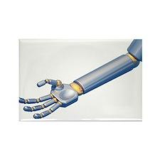 Robot hand, artwork - Rectangle Magnet (10 pk)