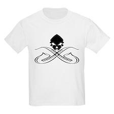 Skull and Saxophone Black T-Shirt