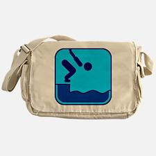 Schwimmen Messenger Bag