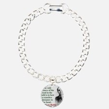 The Only Business Of The Head - Yeats Charm Bracel