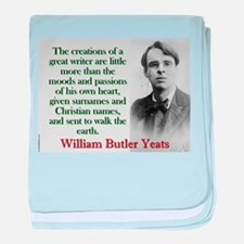 The Creations Of A Great Writer - Yeats baby blank