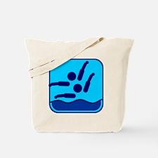 Synchronschwimmen Tote Bag