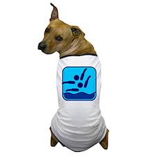 Synchronschwimmen Dog T-Shirt