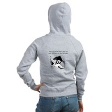 Too Old for Your Birthday Women's Zip Hoodie