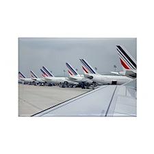 Gaulle Paris - Rectangle Magnet (10 pk)