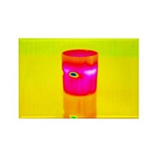 Hot drink, thermogram - Rectangle Magnet (10 pk)