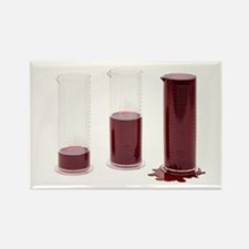 Blood loss amounts - Rectangle Magnet (10 pk)