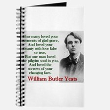 How Many Loved Your Moments Of Sad Grace - Yeats J