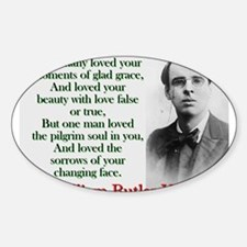 How Many Loved Your Moments Of Sad Grace - Yeats S